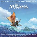 Lin-Manuel Miranda How Far I'll Go (from Moana) (arr. Audrey Snyder) cover art