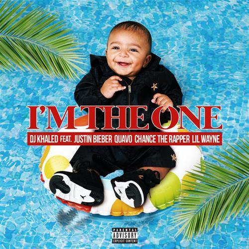 DJ Khaled I'm The One (feat. Justin Bieber, Quavo, Chance The Rapper & Lil Wayne) cover art