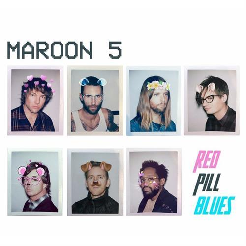 Maroon 5 Denim Jacket cover art