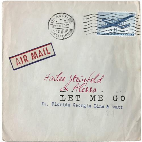 Hailee Steinfeld and Alesso Let Me Go (feat. Florida Georgia Line) cover art