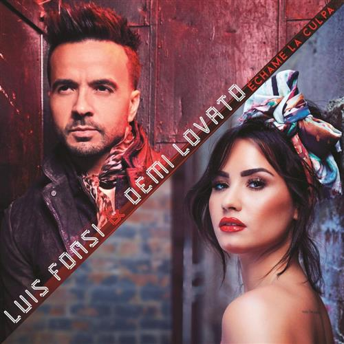 Luis Fonsi and Demi Lovato Echame La Culpa cover art