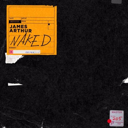 James Arthur Naked cover art