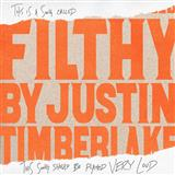 Justin Timberlake Filthy cover art