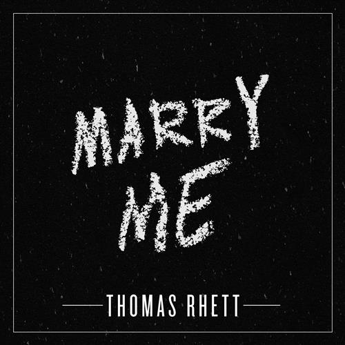 Thomas Rhett Marry Me cover art