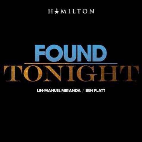 Ben Platt & Lin-Manuel Miranda Found/Tonight cover art
