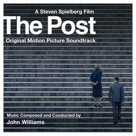 John Williams The Presses Roll (from The Post) cover art