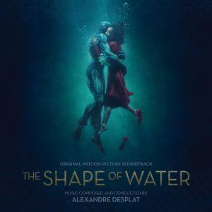 Alexandre Desplat Underwater Kiss (from 'The Shape Of Water') cover art