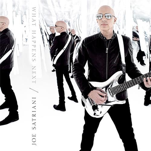 Joe Satriani What Happens Next cover art