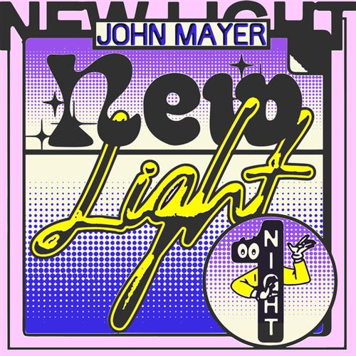 John Mayer New Light cover art
