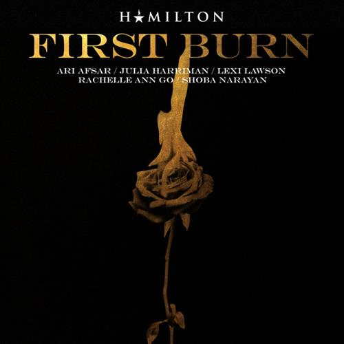 Lin-Manuel Miranda First Burn cover art
