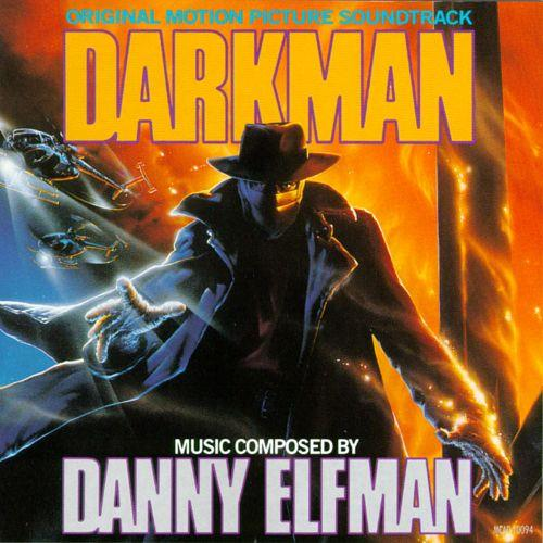 Danny Elfman Darkman cover art