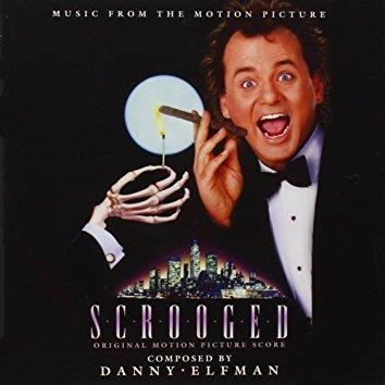 Danny Elfman Scrooged Main Title cover art
