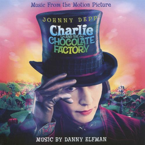 Danny Elfman Wonka's Welcome Song (from Charlie and the Chocolate Factory) cover art