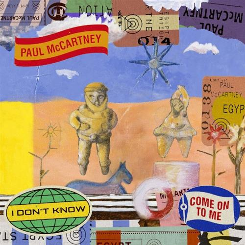 Paul McCartney Come On To Me cover art