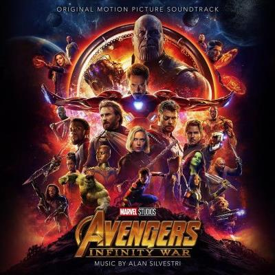 Alan Silvestri Infinity War (from The Avengers: Infinity War) cover art