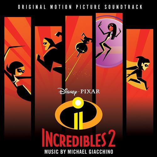 Michael Giacchino Diggin' The New Digs (from The Incredibles 2) cover art