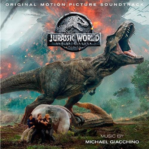 Michael Giacchino The Theropod Preservation Society (from Jurassic World: Fallen Kingdom) cover art