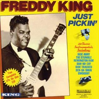 Freddie King In The Open cover art
