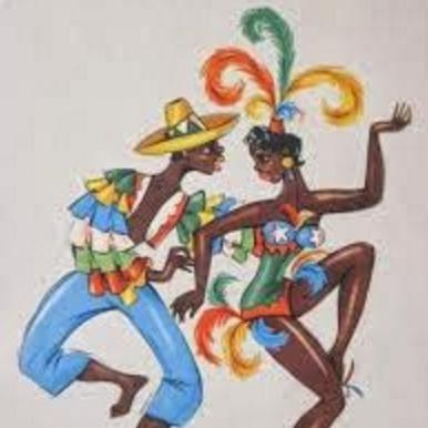 Traditional Calypso Song Hey Lolly, Lolly cover art