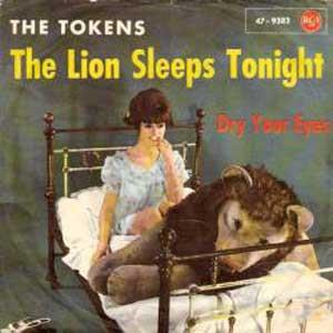 Tokens The Lion Sleeps Tonight cover art