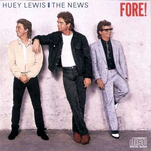 Huey Lewis & The News Doin' It (All For My Baby) cover art