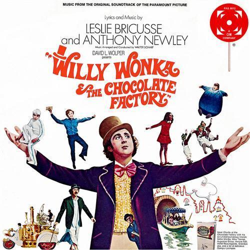 Willy Wonka & the Chocolate Factory Pure Imagination cover art