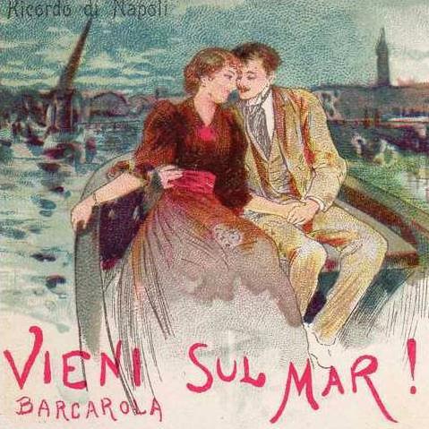 Italian Folksong Vieni Sul Mar cover art