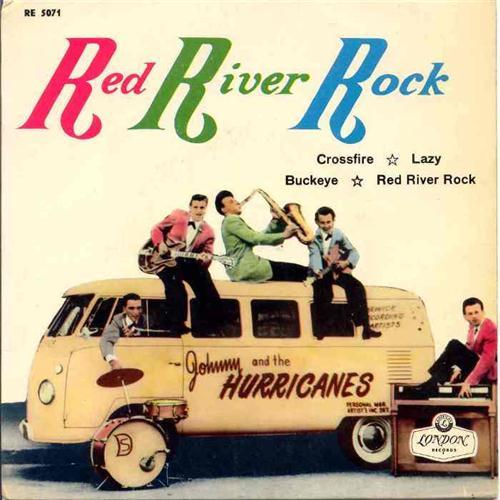 Johnny & The Hurricanes Red River Rock cover art