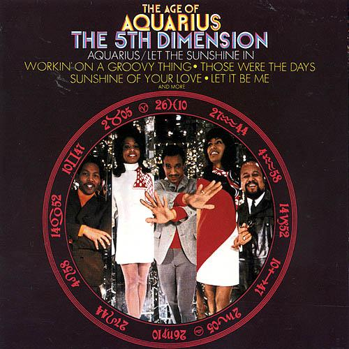 The Fifth Dimension Aquarius/Let The Sunshine In cover art