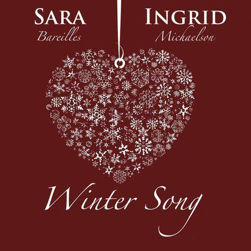 Sara Bareilles Winter Song cover art