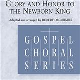 Partition chorale Glory Hallelujah To The Newborn King de Robert DeCormier - SSA