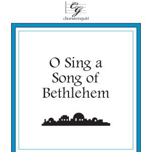 Randy Cox O Sing A Song Of Bethlehem cover art