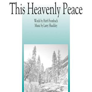 Larry Shackley This Heavenly Peace cover art