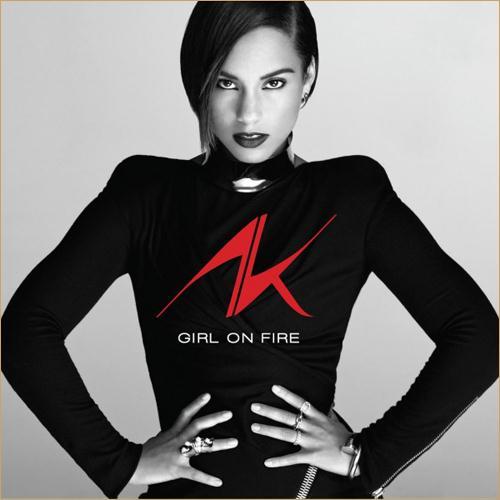 Alicia Keys Girl On Fire cover art
