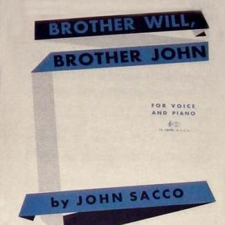 John Sacco Brother Will, Brother John cover art