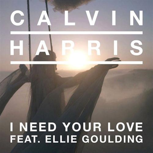 Calvin Harris I Need Your Love (feat. Ellie Goulding) cover art
