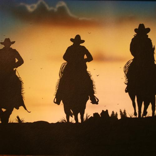 American Cowboy Song I Ride An Old Paint cover art