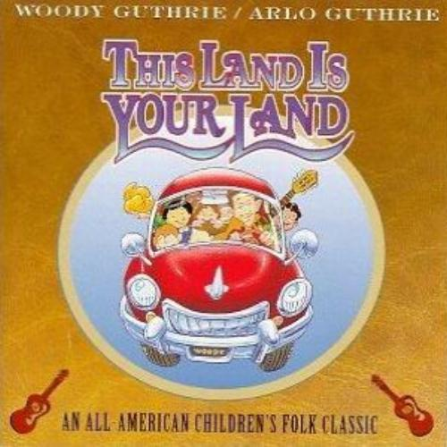 Woody & Arlo Guthrie This Land Is Your Land cover art