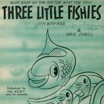 Saxie Dowell Three Little Fishies cover art