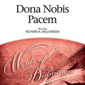 Richard A. Williamson Dona Nobis Pacem cover art