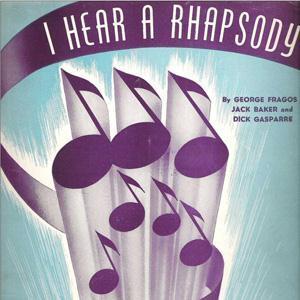Jack Baker I Hear A Rhapsody cover art