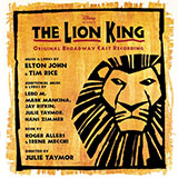 Elton John Chow Down (from The Lion King: Broadway Musical) cover art