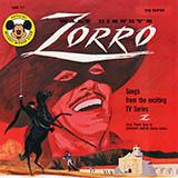 George Bruns Theme From Zorro l'art de couverture