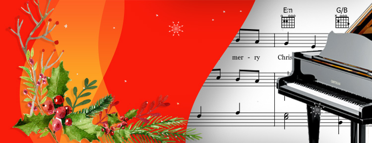 Christmas Piano.Christmas Sheet Music For Piano Sheet Music Direct